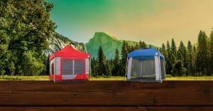 kampeer cube vouwtent